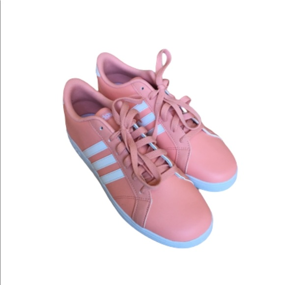 Adidas | Sport Inspired Pink White Stripe Sneakers